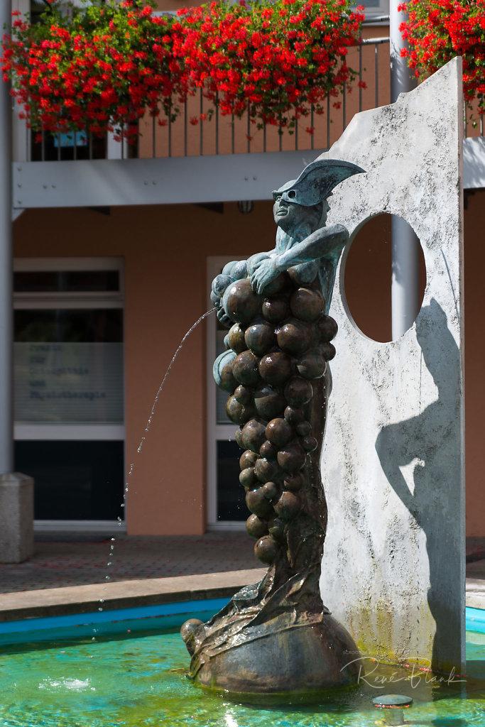 Brunnen am Löweneck, Zaberfeld